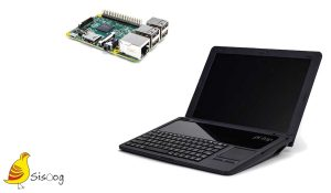 Laptop raspberry pi