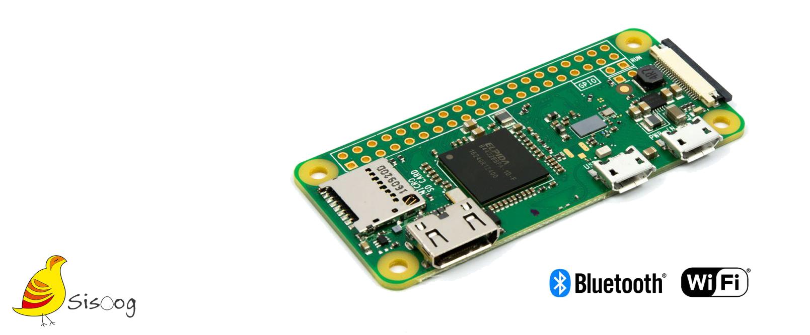 نسخه جدید   zero-W Raspberry Pi ، همراه بلوتوث و WLAN