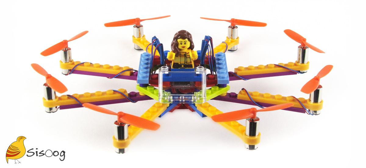 Sisoog Lego Quadcopter