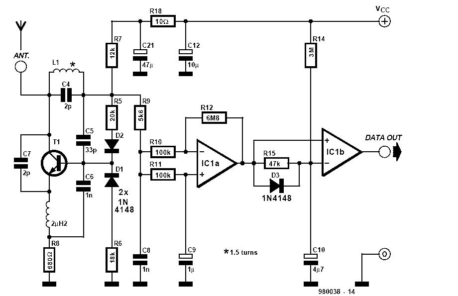 ASK Reciver Schematic
