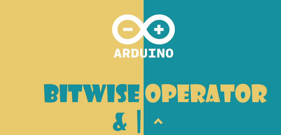 Bitwise operators in arduino