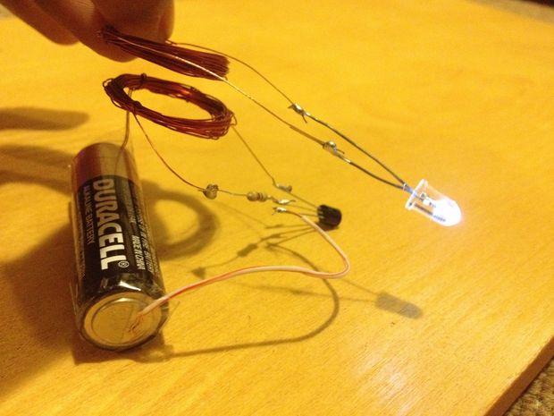 ساخت مدار الکتریکی بی سیم