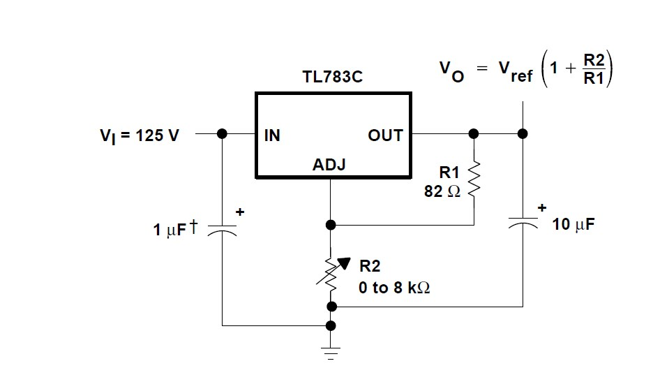 HV . high voltage regulator