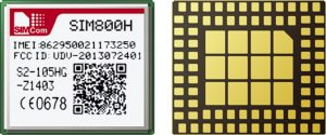 SIM800H BGA PIN