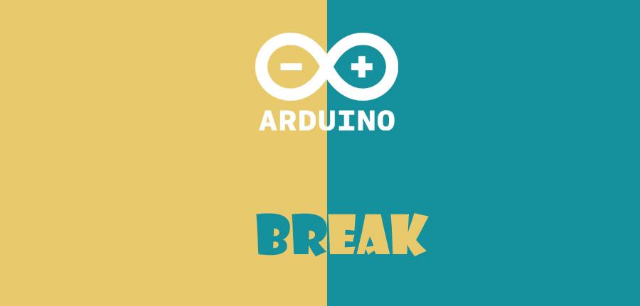 دستور break در آردوینو