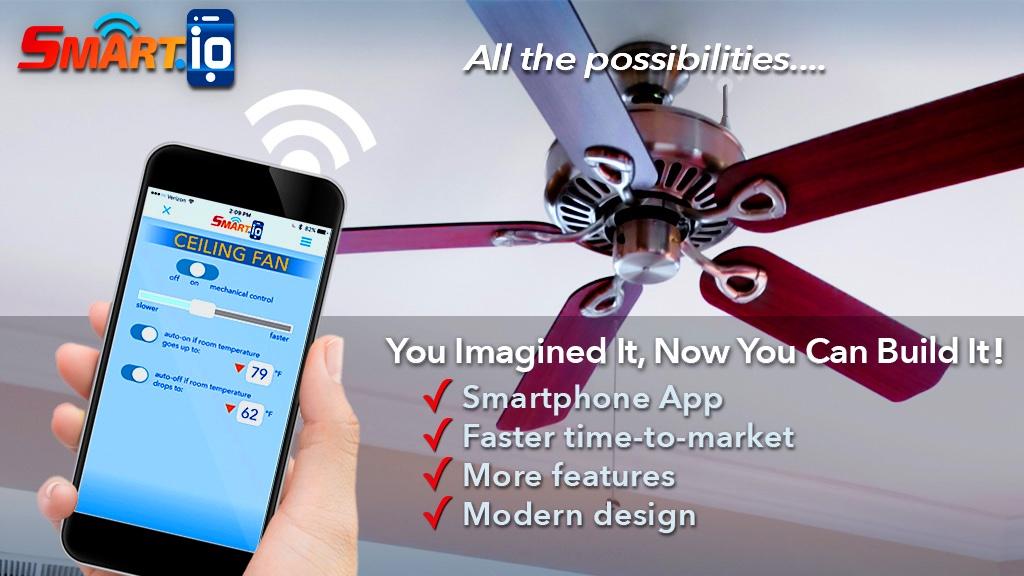 Smart.IO رابطهای گوشی هوشمند را به برنامههای میکروکنترلر خود اضافه میکند.