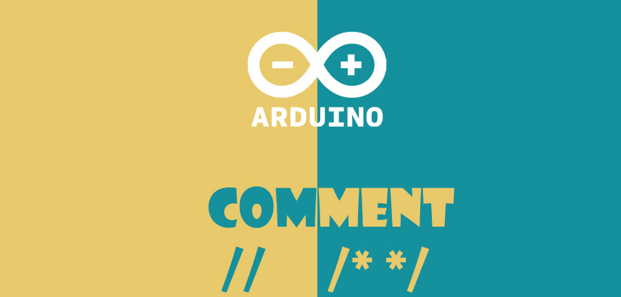 comment in arduino