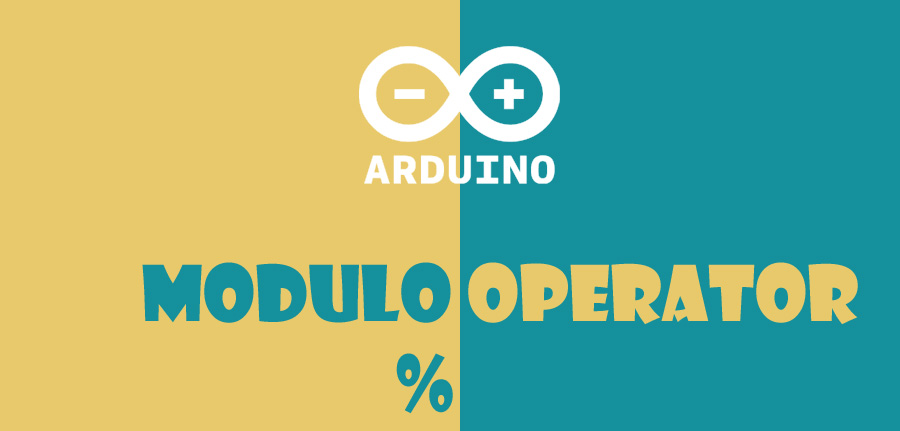 modulo operator in arduino