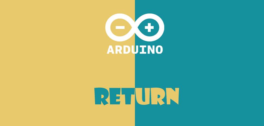 دستور return در آردوینو