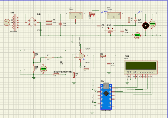 کنترلر جریان و ولتاژ