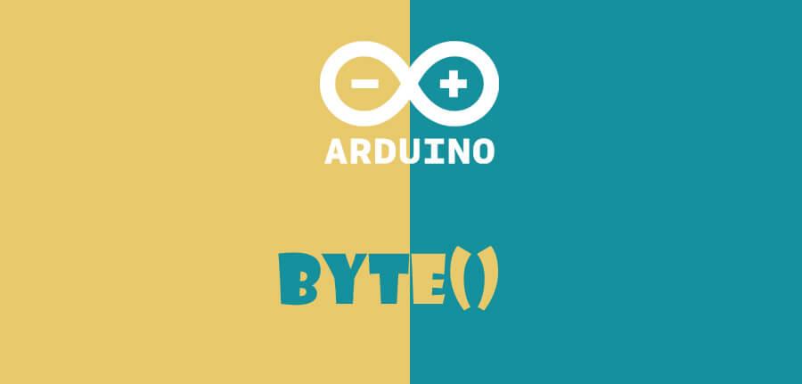()byte در آردوینو