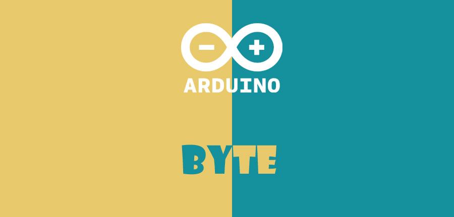 byte در آردوینو
