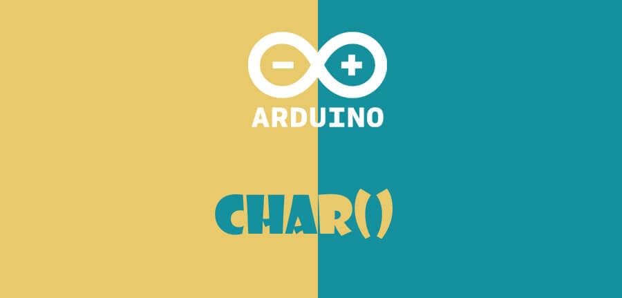 ()char در آردوینو