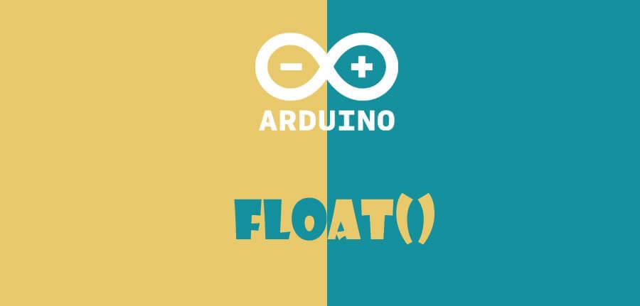 ()float در آردوینو
