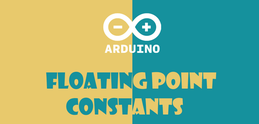 ثابتهای ممیز شناور در آردوینو