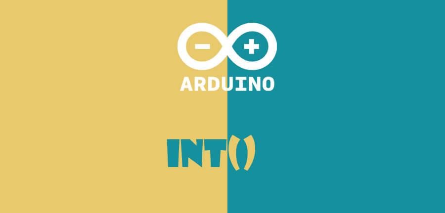 ()int در آردوینو