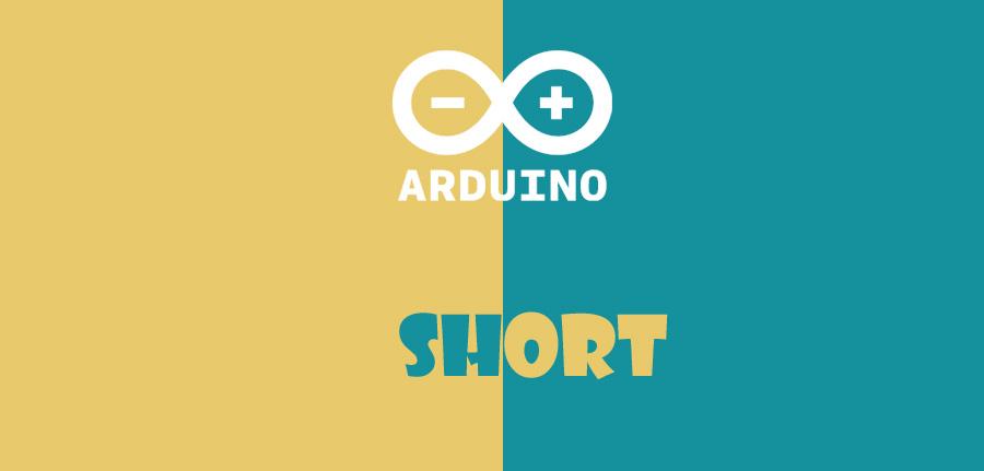 short در آردوینو