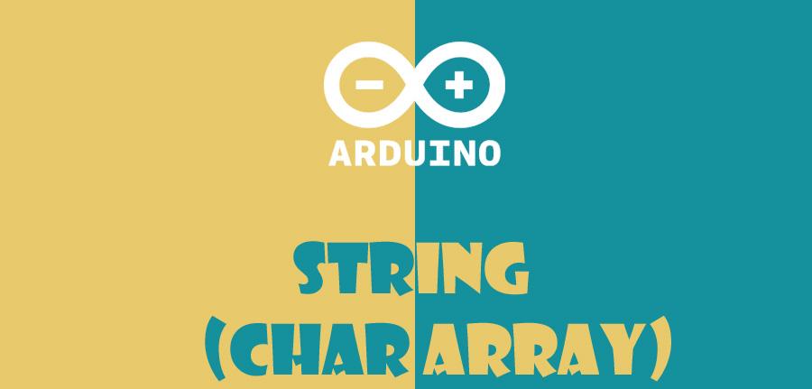 string در آردوینو