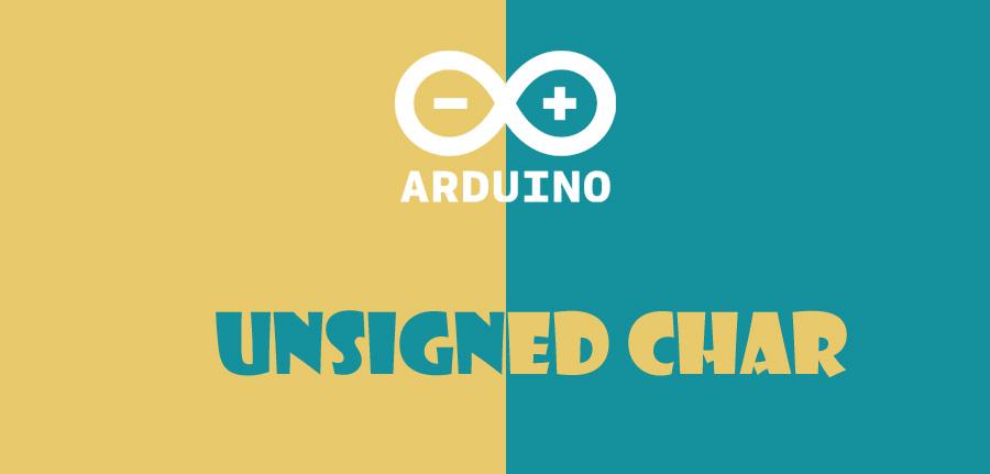 unsigned char در آردوینو