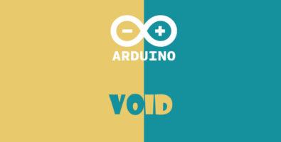 void در آردوینو