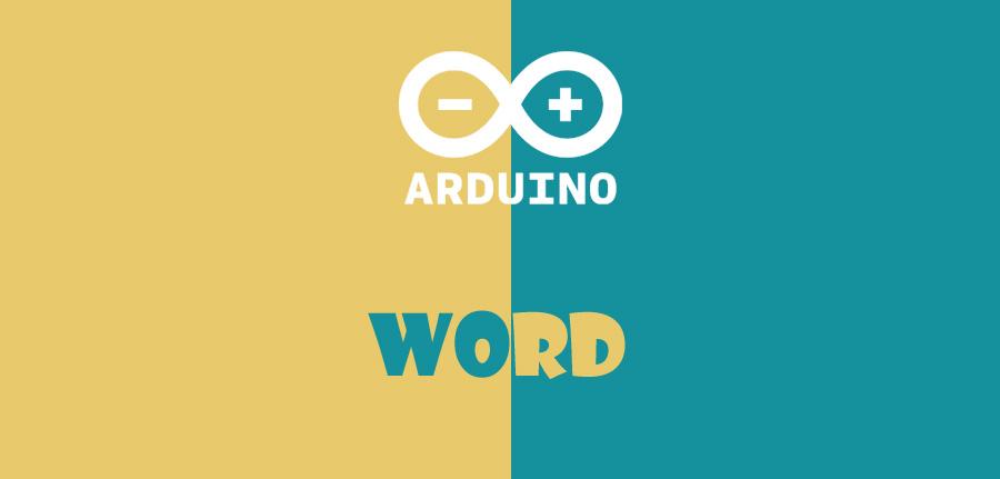 word در آردوینو