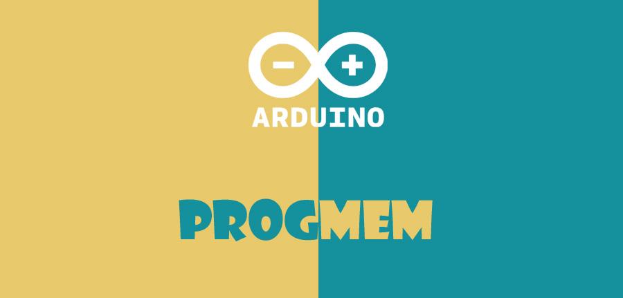 PROGMEM در آردوینو