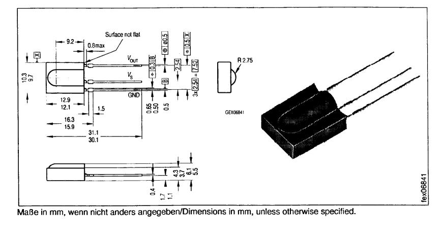 همه چیز در مورد گیرنده SFH506 RC5