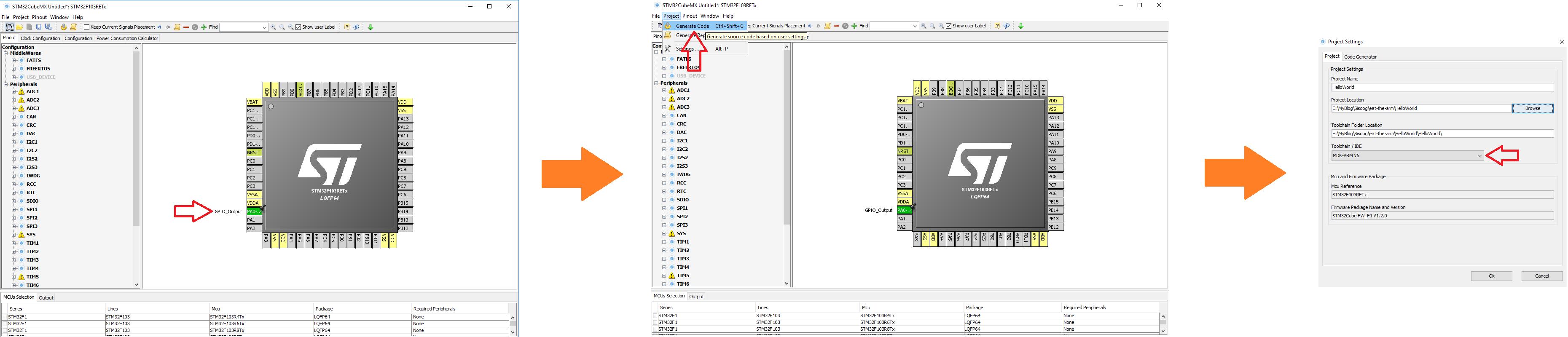 آموزش نرم افزار STM32 Cube