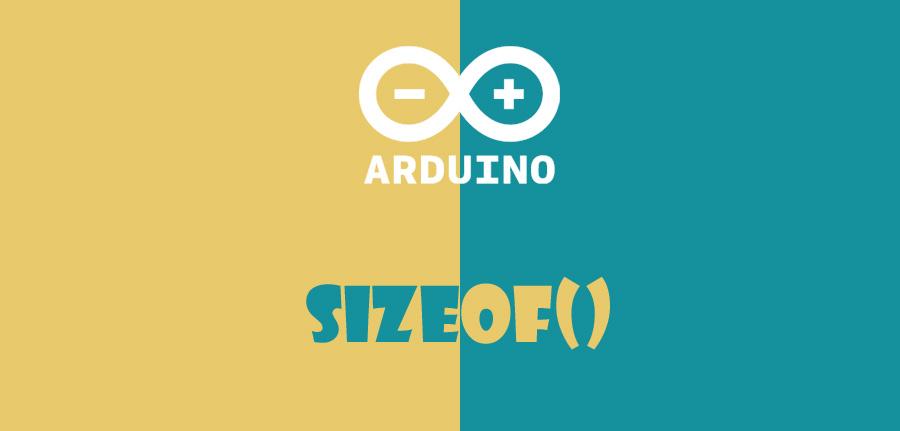 sizeof در آردوینو