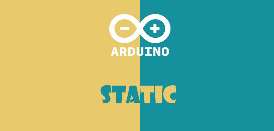 static در آردوینو