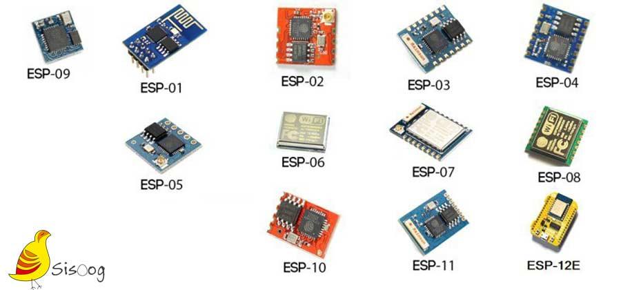 مدلهای متفاوت ESP
