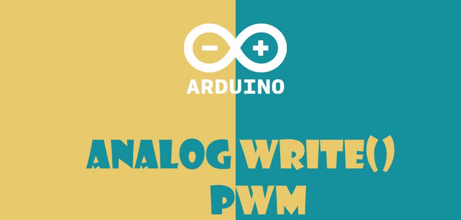 ()analogWrite در آردوینو