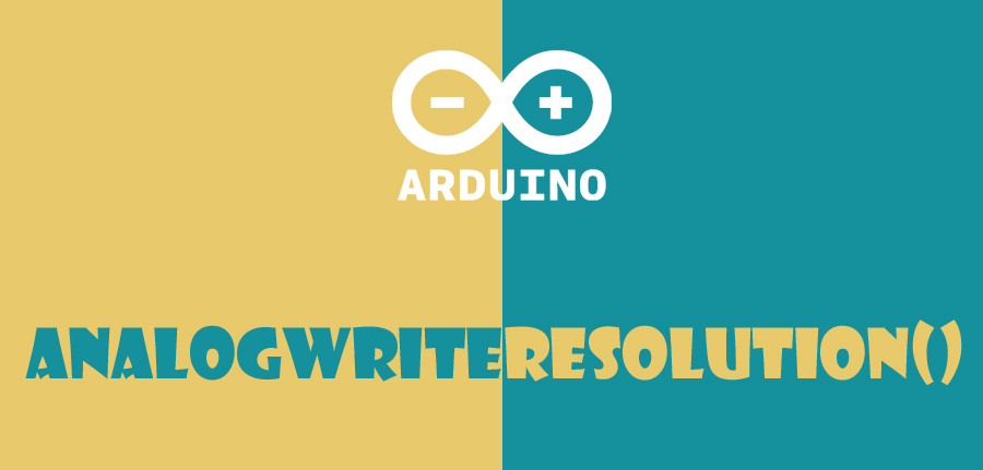 ()analogWriteResolution در آردوینو