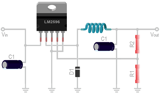 LM2596 Circuit