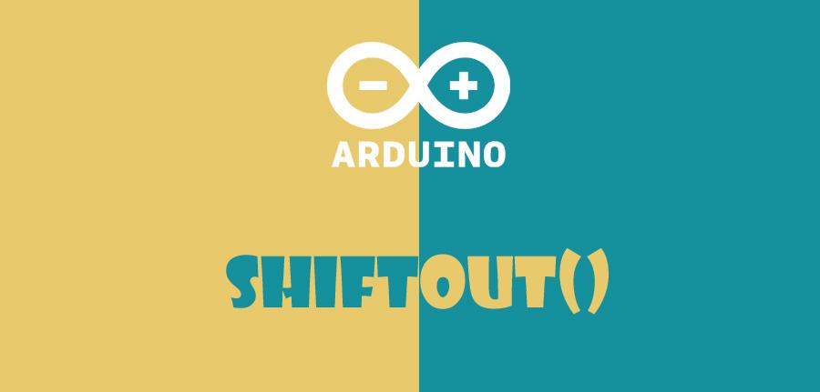 ()shiftOut در آردوینو
