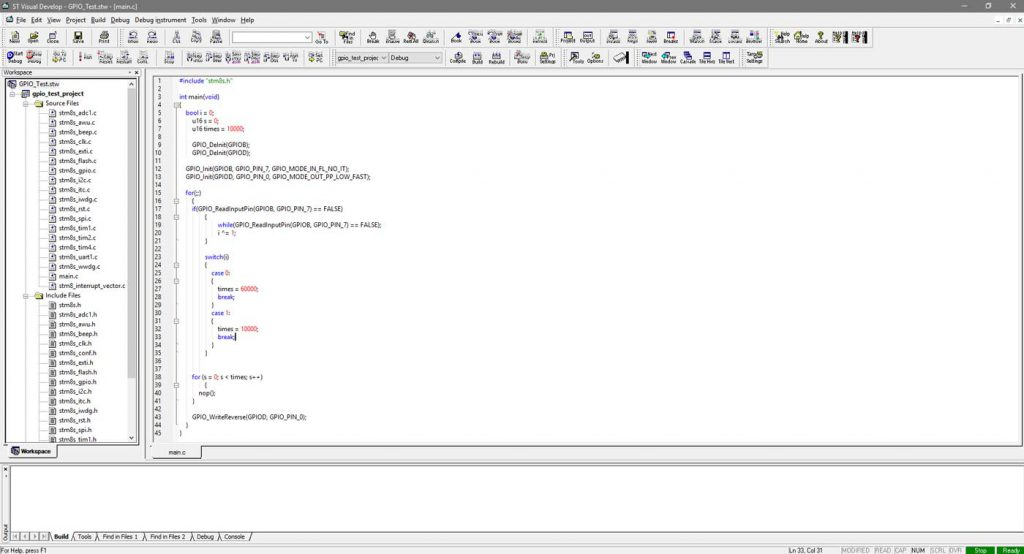 محیط نرم افزار STVP