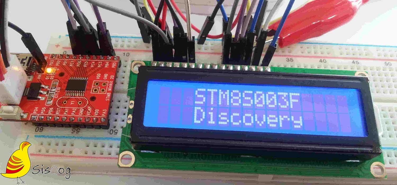 راه اندازی LCD کاراکتری با میکروکنترلر STM8