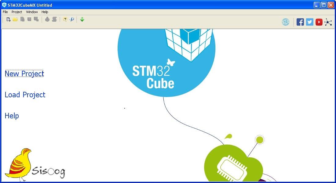 محیط نرم افزار CubeMx برای میکروکنترلر STM32