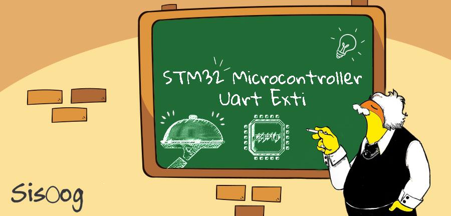 آموزش میکروکنترلر STM32 وقفه رابط سریال