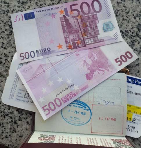 سفر به چین ، دریافت ارز مسافرتی