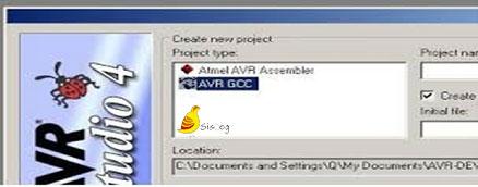 برنامه نویسی در محیط AVR Studio