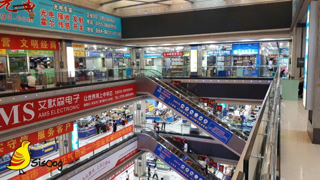 نحوه کار بازار الکترونیک چین