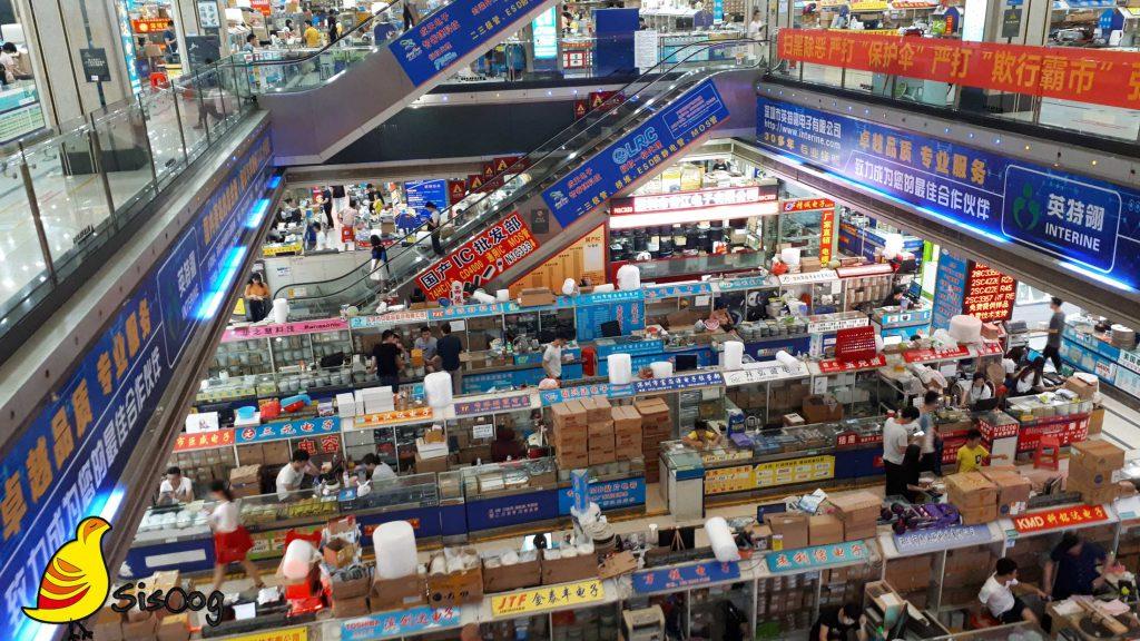 بازار الکترونیک چین چطور کار میکند