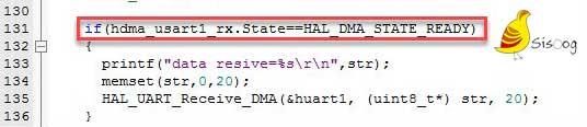 چک کردن وضعیت State واحد DMA