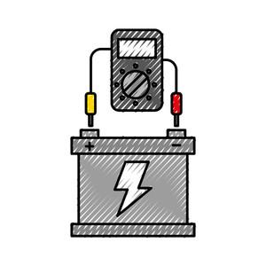 ولتاژ مدار باز باتری