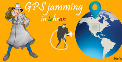 Gps Jamming in Theran