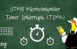 آموزش میکروکنترلر STM8 قسمت 18 : تایمر 4