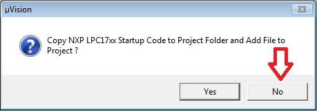 ایجاد پروژه جدید در نرم افزار keil