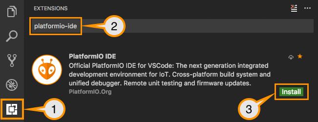 آموزش نصب PlatfromIO در ویژوال استودیو کد