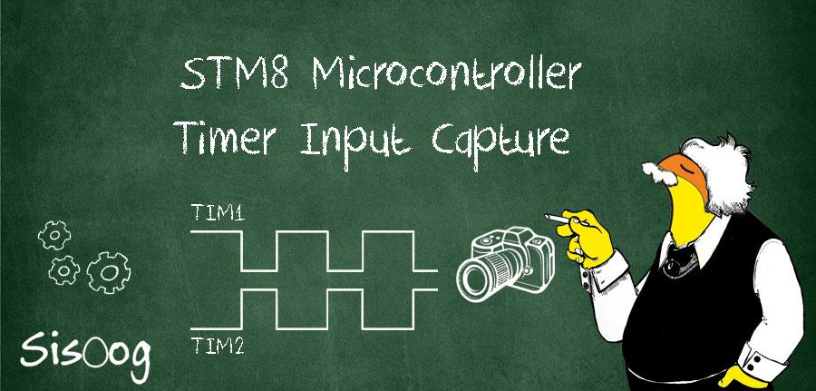 آموزش میکروکنترلر STM8 قسمت 21: کپچر تایمر ورودی TIM1 و TIM2